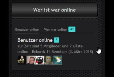 Wer Ist/War Online Sidebar/Footer Box