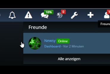 Freunde-System Woltlab Suite